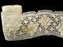 Cotton bobbin lace 75224, width 100 mm, ecru - 4/4