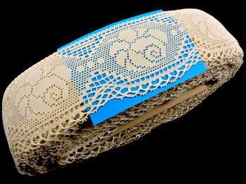 Bobbin lace No. 75236 ecru | 30 m - 4