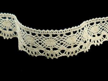 Bobbin lace No. 75238 ecru | 30 m - 4