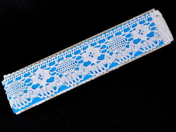 Bobbin lace No. 75253 white | 30 m - 4