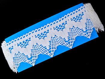 Bobbin lace No. 75256 white | 30 m - 4