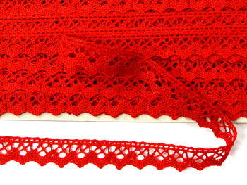 Bobbin lace No. 75259 red | 30 m - 4