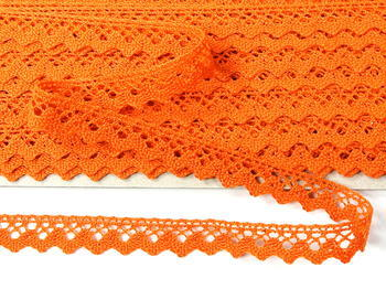 Bobbin lace No. 75259 orange | 30 m - 4