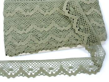 Bobbin lace No. 75261 dark linen | 30 m - 4