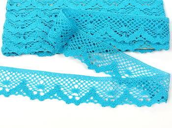 Bobbin lace No. 75261 turquoise | 30 m - 4