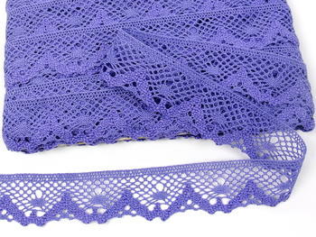 Bobbin lace No. 75261 purple II. | 30 m - 4