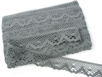 Bobbin lace No. 75261 grey III.| 30 m - 4