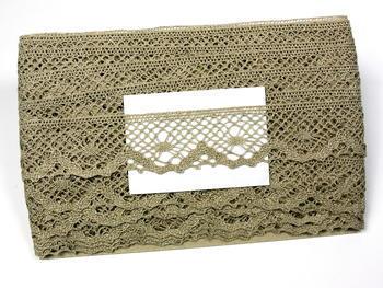 Bobbin lace No. 75261 natural linen | 30 m - 4