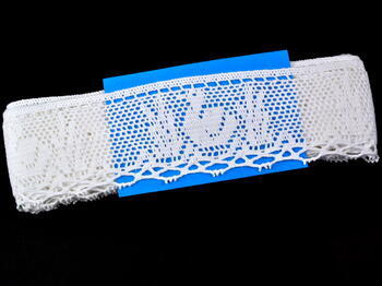 Bobbin lace No. 75284 white | 30 m - 4