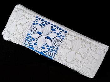 Bobbin lace No. 75290 white | 30 m - 4