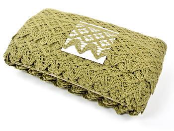 Bobbin lace No. 75293 green | 30 m - 4