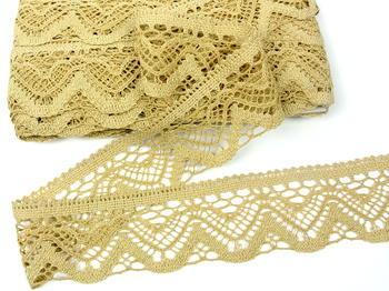 Bobbin lace No. 75301 toffee | 30 m - 4