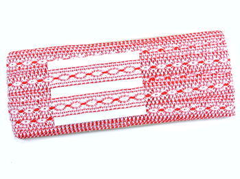 Bobbin insert No. 75305 white/red | 30 m - 4