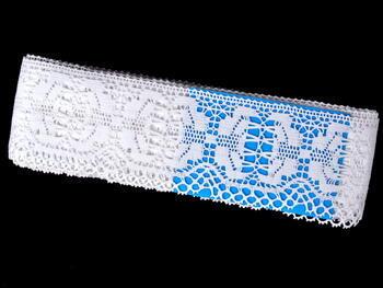 Paličkovaná krajka vzor 75313 bílá | 30 m - 4