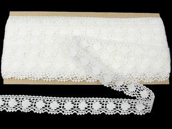 Bobbin lace No. 75327 white | 30 m - 4