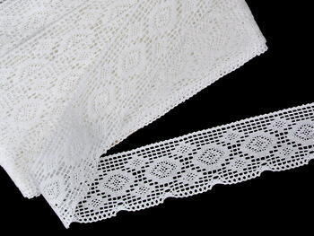Bobbin lace No. 75330 white | 30 m - 4