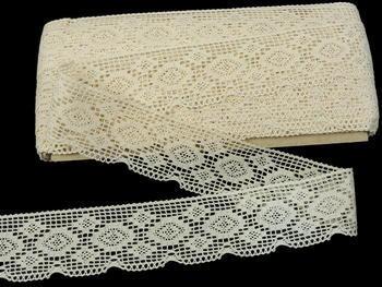 Bobbin lace No. 75332 ecru   30 m - 4
