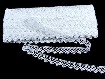 Bobbin lace No. 75346 white | 30 m - 4