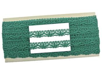 Bobbin lace No. 75395 dark green | 30 m - 4