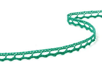 Bobbin lace No. 75397 light green | 30 m - 4