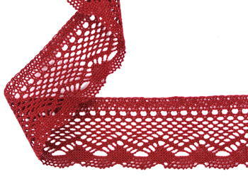 Bobbin lace No. 75414 red bilberry | 30 m - 4