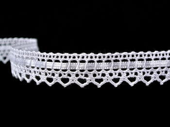 Bobbin lace No. 75445 white | 30 m - 4