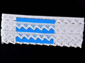 Bobbin lace No. 75469 white | 30 m - 4