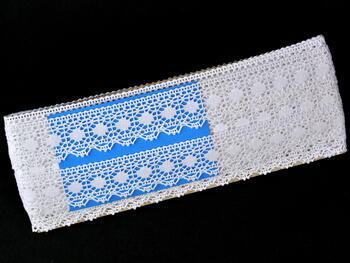 Bobbin lace No. 75473 white | 30 m - 4