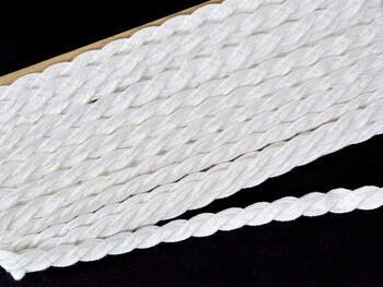 Paličkovaná krajka vzor 75494 bílá | 30 m - 4
