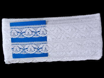 Bobbin lace No. 75497 white | 30 m - 4
