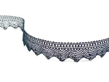 Bobbin lace No. 75518 black | 30 m - 4