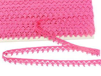 Bobbin lace No. 75535 fuchsia | 30 m - 4
