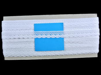 Bobbin lace No. 75549 white | 30 m - 4