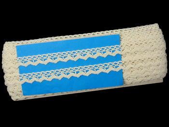 Bobbin lace No.75602 ecru | 30 m - 4