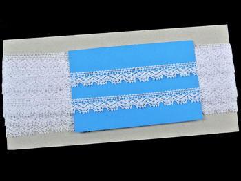 Bobbin lace No. 75607 white | 30 m - 4