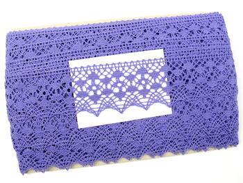 Paličkovaná krajka vzor 75625 purpurová II. | 30 m - 4