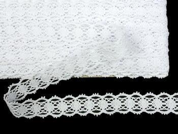 Bobbin lace No. 75628 white | 30 m - 4