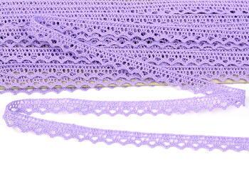 Paličkovaná krajka vzor 75633 purpurová III. | 30 m - 4
