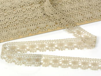 Bobbin lace No. 81050 light linen| 30 m - 4