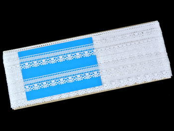 Bobbin lace No. 81217 white | 30 m - 4