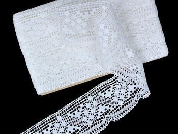 Bobbin lace No. 81232 white | 30 m - 4