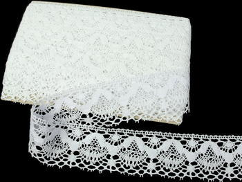 Bobbin lace No. 81289 white | 30 m - 4