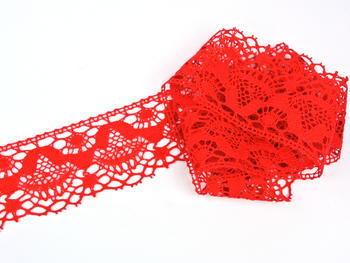 Bobbin lace No. 81289 red | 30 m - 4