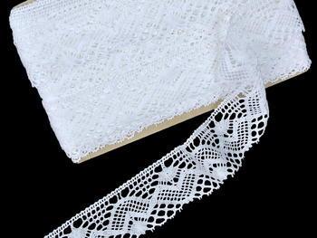 Bobbin lace No. 81294 bílá | 30 m - 4
