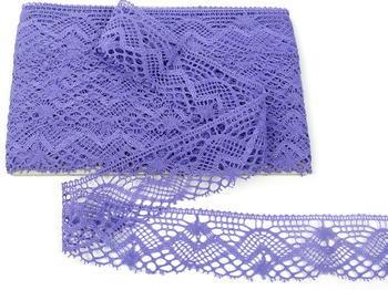 Paličkovaná krajka vzor 81294 purpurová II. | 30 m - 4