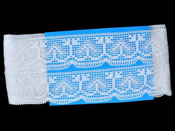 Bobbin lace No. 81317 white | 30 m - 4