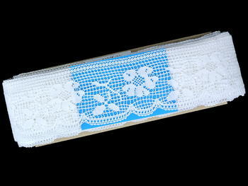 Bobbin lace No. 81326 white | 30 m - 4
