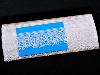 Bobbin lace No. 81733 white | 30 m - 4