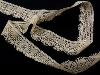 Bobbin lace No. 81733 ecru | 30 m - 4
