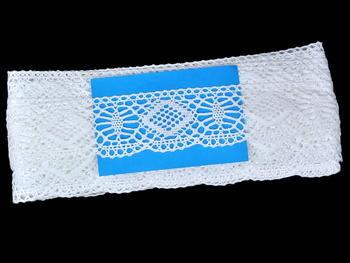 Bobbin lace No. 81765 white | 30 m - 4